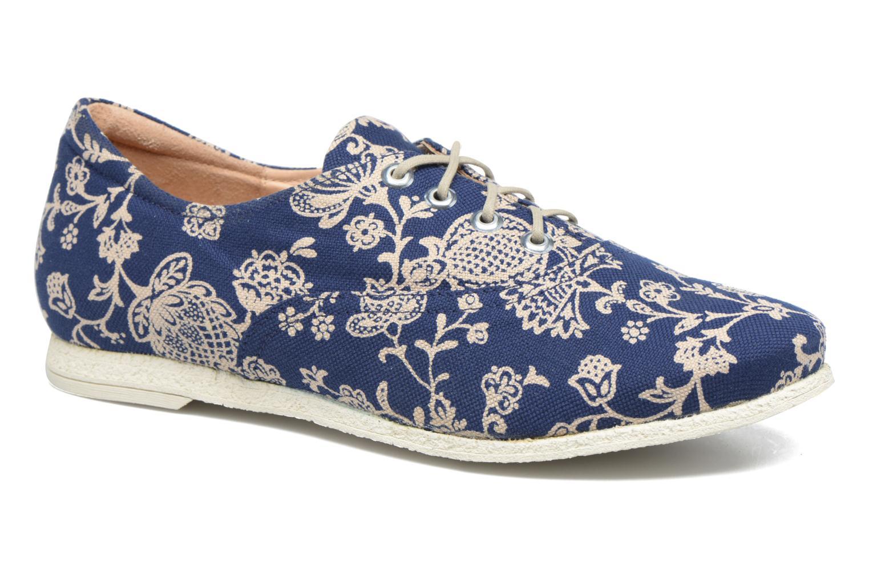 Zapatos con cordones Think! Shua 80036 Azul vista de detalle / par