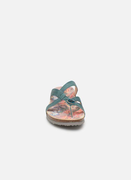 Mules et sabots Think! Julia 84333 Vert vue portées chaussures