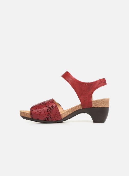 Sandales et nu-pieds Think! Traudi 84573 Rouge vue face