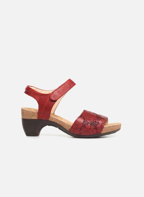 Sandales et nu-pieds Think! Traudi 84573 Rouge vue derrière