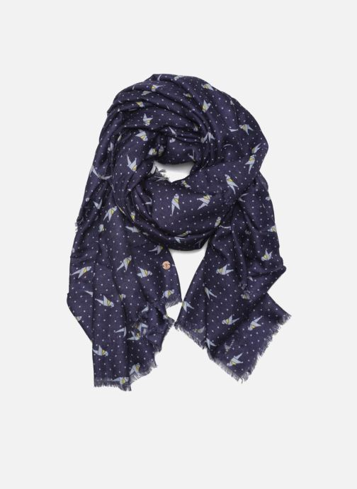 Scarf Esprit Print stripes scarf 100x200 Blue detailed view/ Pair view