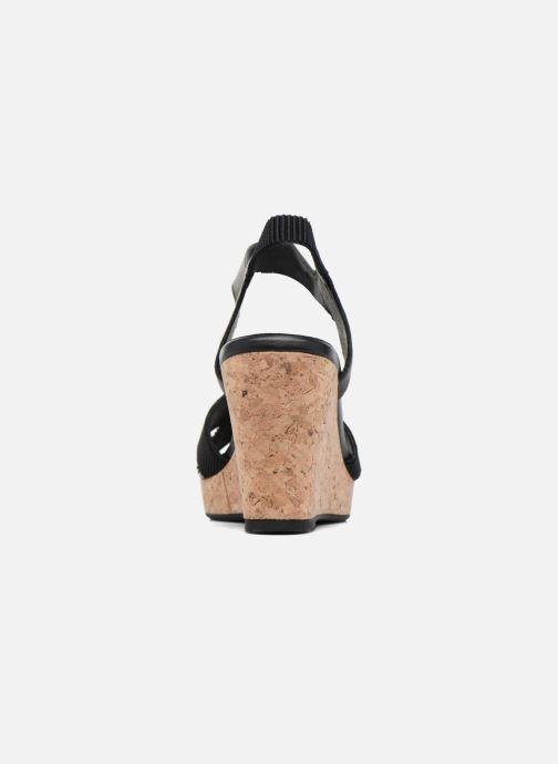 Sandales et nu-pieds Shoe the bear Alec Noir vue droite