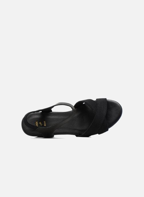 Sandales et nu-pieds Shoe the bear Alec Noir vue gauche