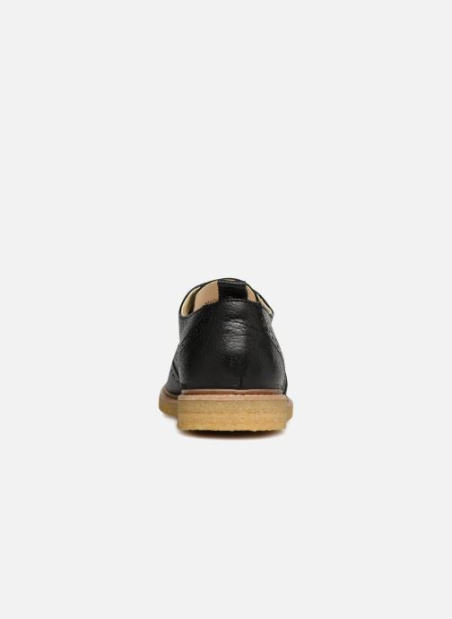 Zapatos con cordones Shoe the bear Paul M Negro vista lateral derecha