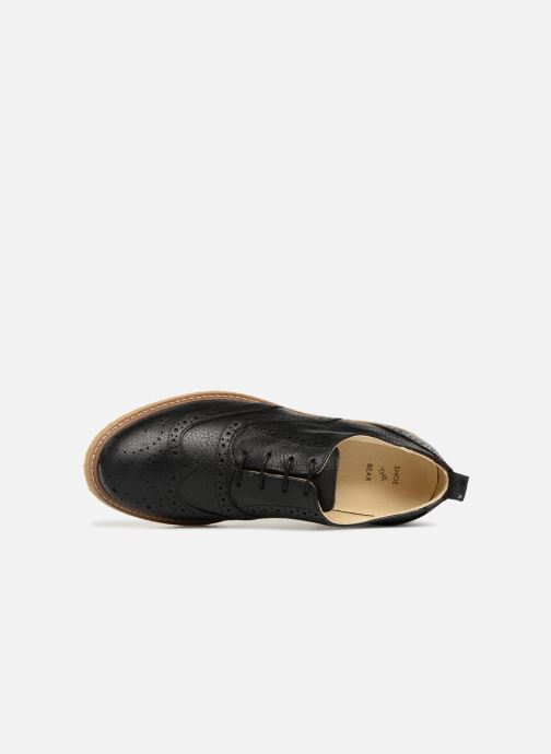 Lace-up shoes Shoe the bear Paul M Black view from the left