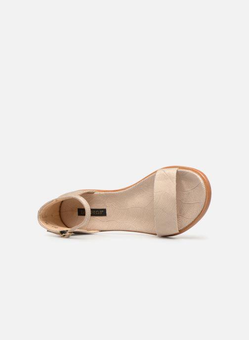 Sandali e scarpe aperte Neosens Aurora S941 Beige immagine sinistra