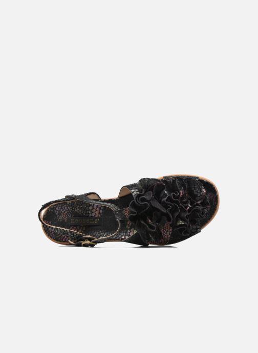 Sandalen Neosens Aurora S943 Zwart links