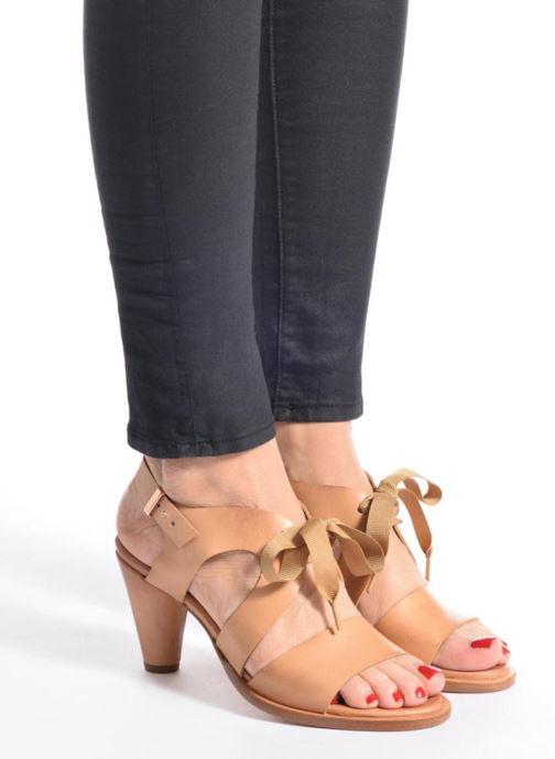 Sandales et nu-pieds Neosens Montua S991 Marron vue bas / vue portée sac