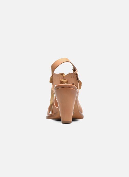 Sandales et nu-pieds Neosens Montua S991 Marron vue droite