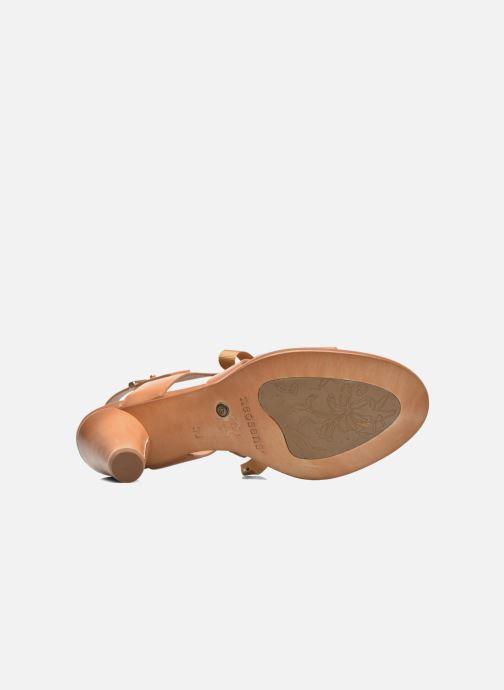 Sandales et nu-pieds Neosens Montua S991 Marron vue haut