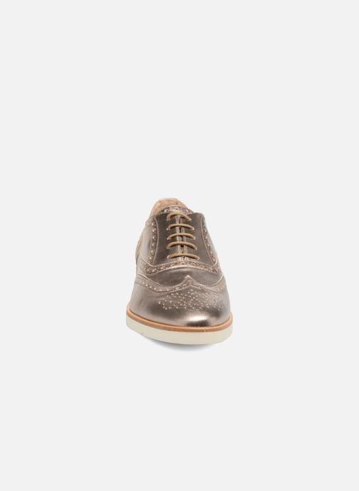 Zapatos con cordones JB MARTIN 1Falba Oro y bronce vista del modelo