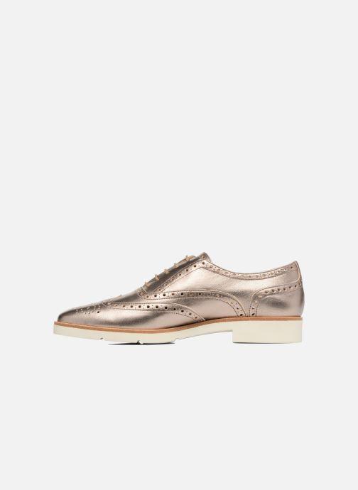 Zapatos con cordones JB MARTIN 1Falba Oro y bronce vista de frente