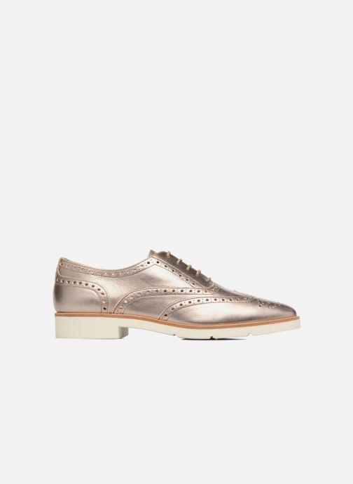 Zapatos con cordones JB MARTIN 1Falba Oro y bronce vistra trasera