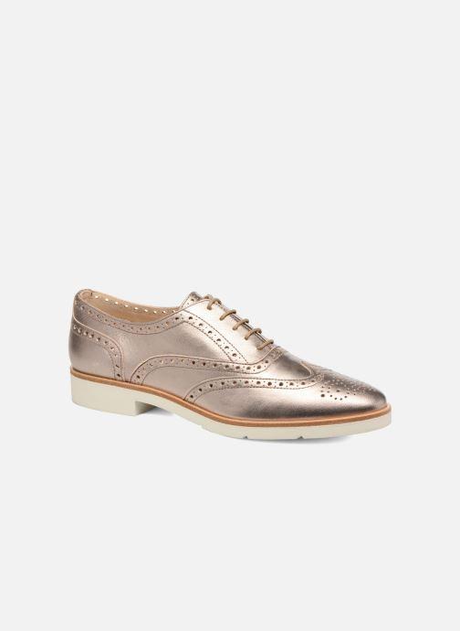 Zapatos con cordones JB MARTIN 1Falba Oro y bronce vista de detalle / par