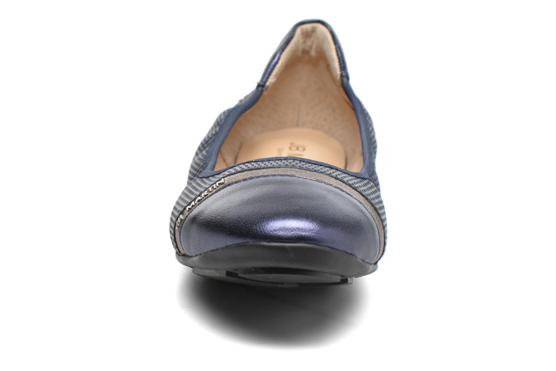 Ballerines JB MARTIN 3Omaley Bleu vue portées chaussures
