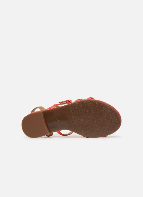 Sandales et nu-pieds JB MARTIN 2GRIOTTES Rose vue haut