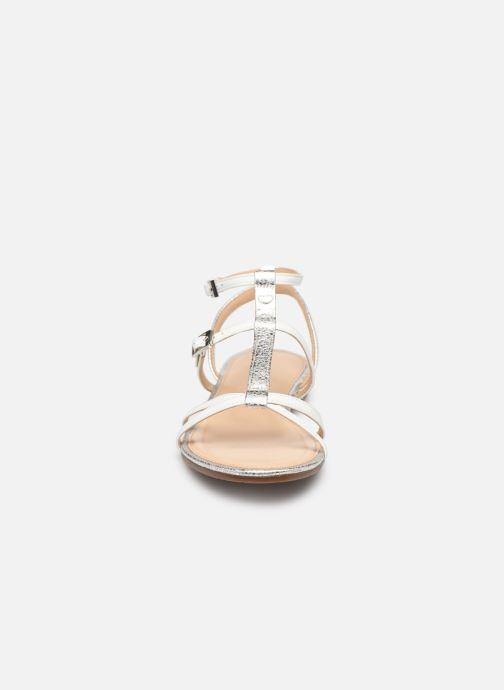 Sandales et nu-pieds JB MARTIN 2GRIOTTES Blanc vue portées chaussures