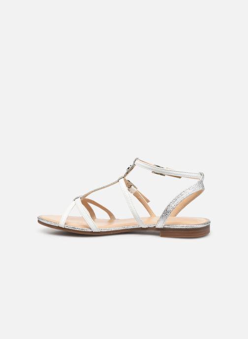 Sandales et nu-pieds JB MARTIN 2GRIOTTES Blanc vue face