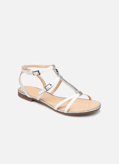 Sandales et nu-pieds JB MARTIN 2GRIOTTES Blanc vue détail/paire