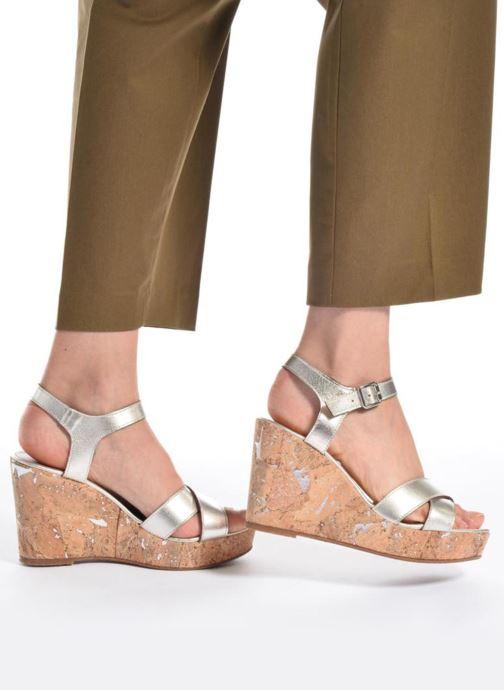 Sandali e scarpe aperte JB MARTIN 2Ocelia Argento immagine dal basso