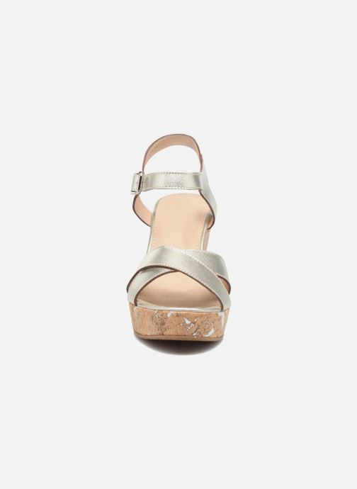 Sandali e scarpe aperte JB MARTIN 2Ocelia Argento modello indossato