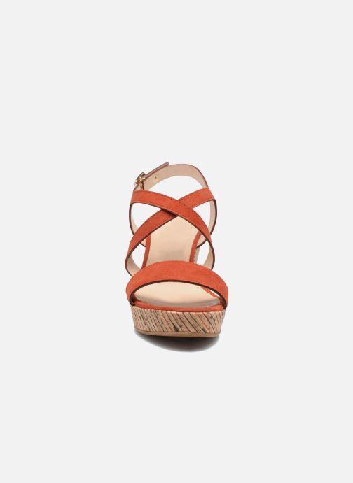 Sandales et nu-pieds JB MARTIN Dayane Orange vue portées chaussures