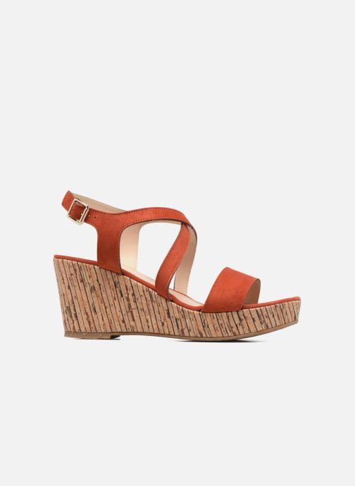 Sandales et nu-pieds JB MARTIN Dayane Orange vue derrière