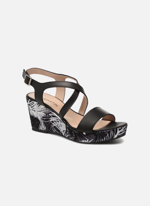 Sandaler JB MARTIN Dayane Sort detaljeret billede af skoene