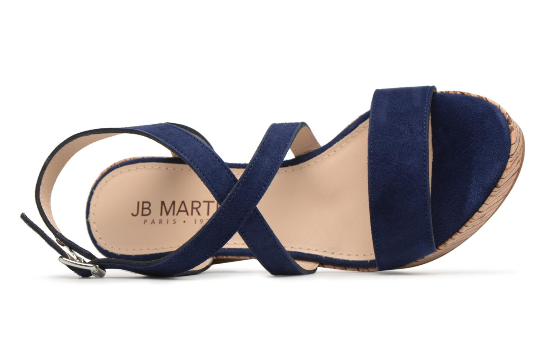 Sandali e scarpe aperte JB MARTIN Dayane Azzurro immagine sinistra