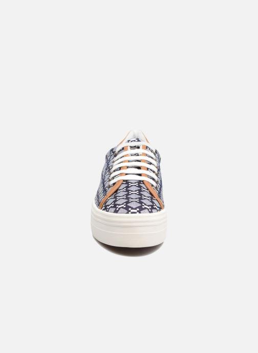 Baskets No Name Plato Sneaker Atari Bleu vue portées chaussures