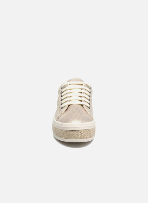 Baskets No Name Malibu Sneaker Or et bronze vue portées chaussures