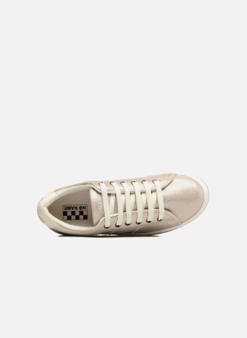 Baskets No Name Malibu Sneaker Or et bronze vue haut