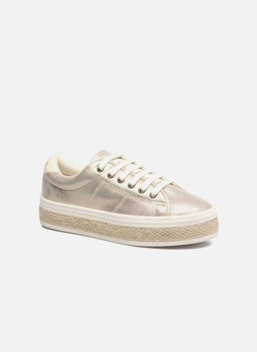 Trainers No Name Malibu Sneaker Bronze and Gold detailed view/ Pair view