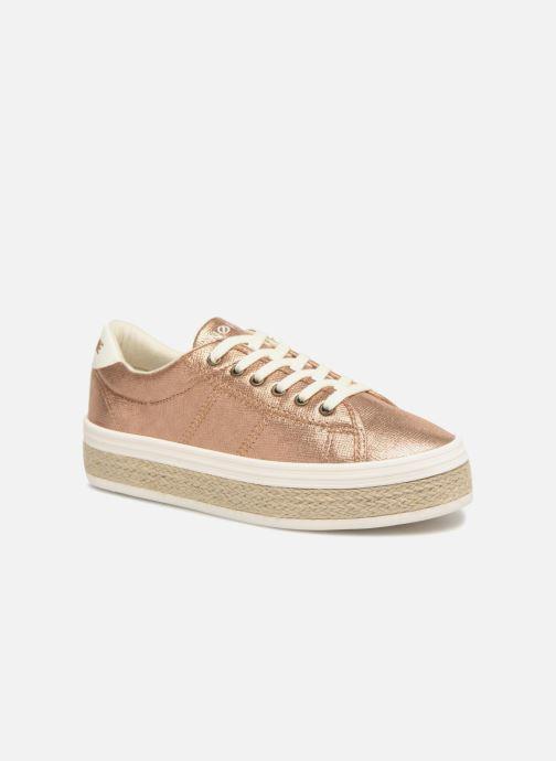 Sneakers No Name Malibu Sneaker Goud en brons detail