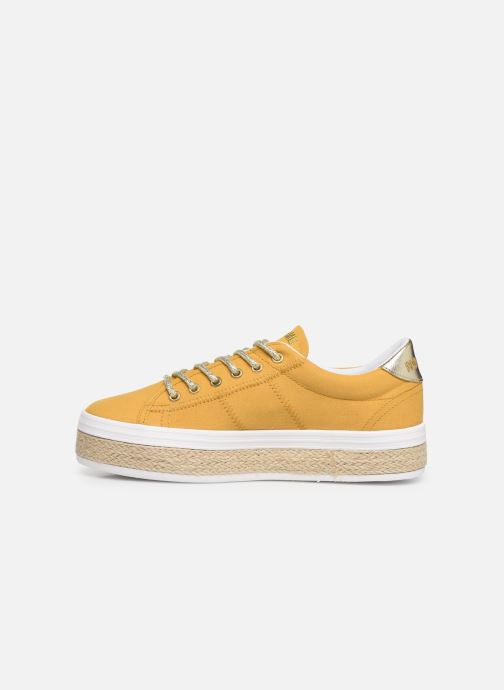 Baskets No Name Malibu Sneaker Jaune vue face