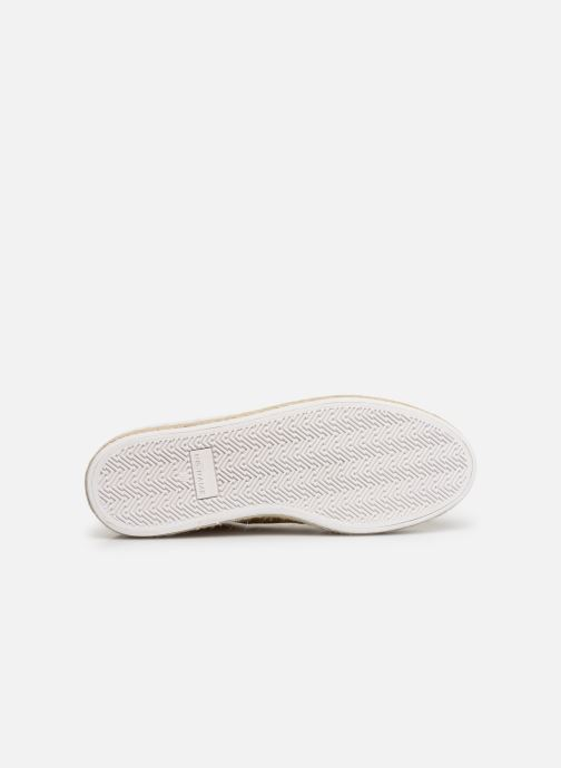 Baskets No Name Malibu Sneaker Jaune vue haut