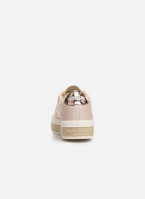 Baskets No Name Malibu Sneaker Rose vue droite
