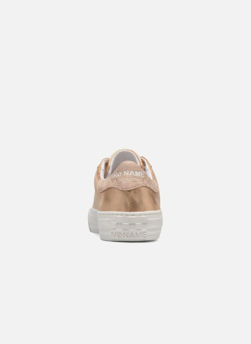 Baskets No Name Arcade Sneaker Glow Or et bronze vue droite