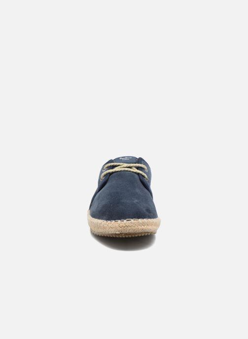 Espadrilles Pepe jeans Tourist Basic 4.0 Bleu vue portées chaussures