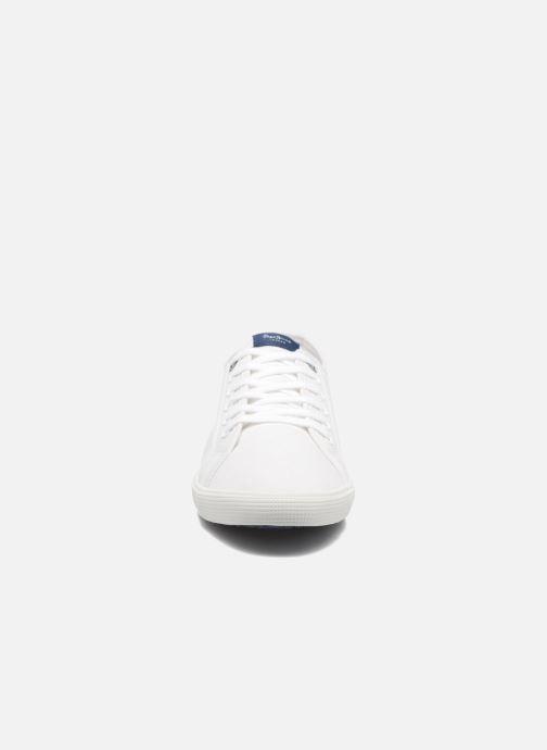 Deportivas Pepe jeans Aberman 2.1 Blanco vista del modelo