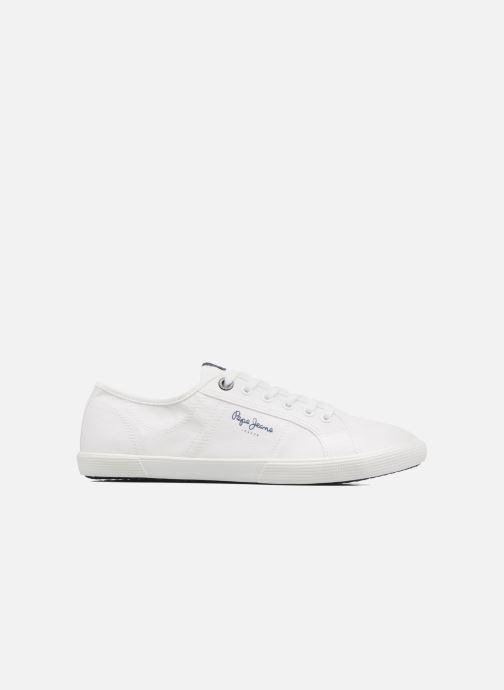 Baskets Pepe jeans Aberman 2.1 Blanc vue derrière