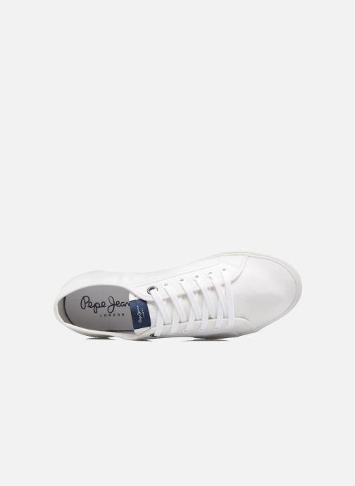 Baskets Pepe jeans Aberman 2.1 Blanc vue gauche