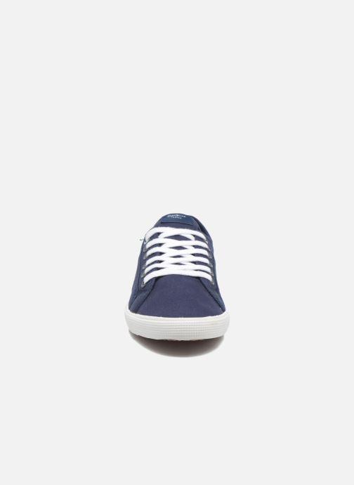 Baskets Pepe jeans Aberman 2.1 Bleu vue portées chaussures