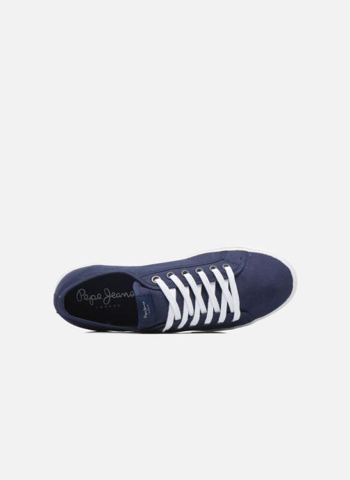 Baskets Pepe jeans Aberman 2.1 Bleu vue gauche
