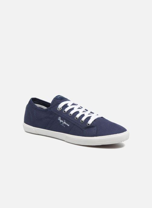Baskets Pepe jeans Aberman 2.1 Bleu vue détail/paire