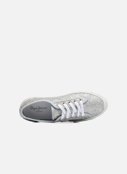 Sneakers Pepe jeans Aberlady Flash Grijs links