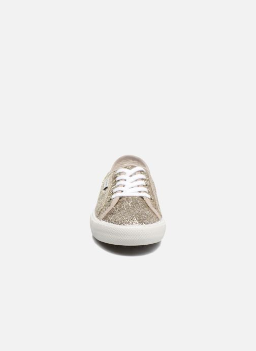 Sneaker Pepe jeans Aberlady Flash gold/bronze schuhe getragen