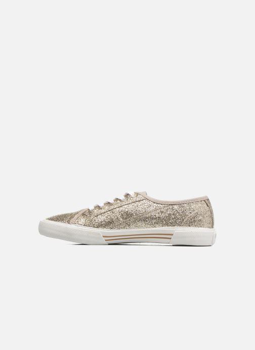 Sneaker Pepe jeans Aberlady Flash gold/bronze ansicht von vorne