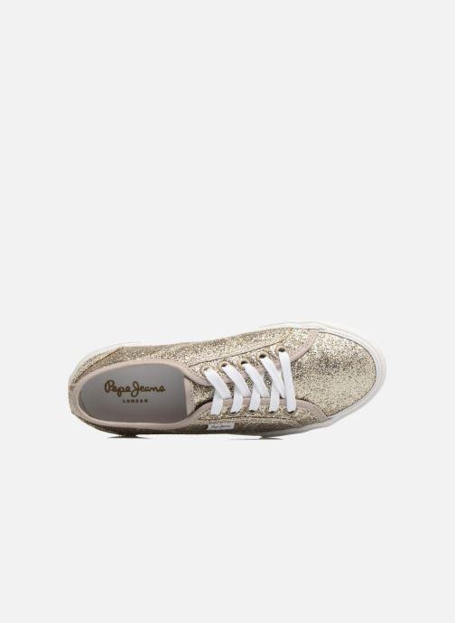 Sneaker Pepe jeans Aberlady Flash gold/bronze ansicht von links