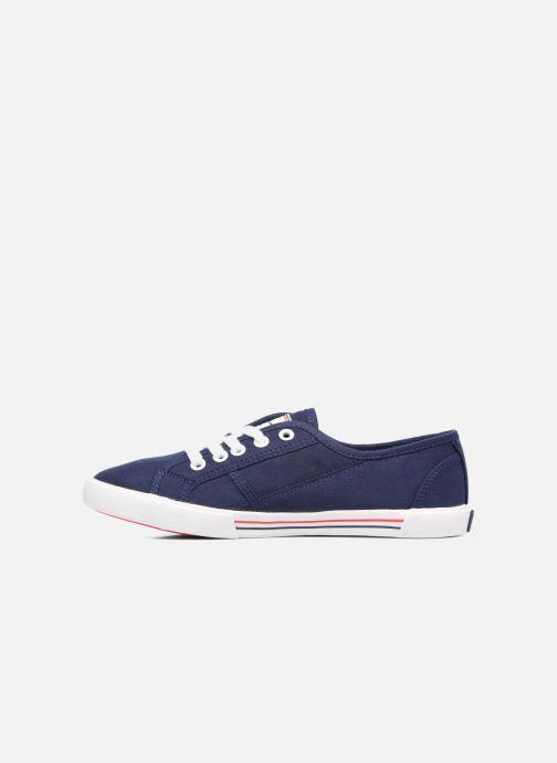 Sneakers Pepe jeans Aberlady Basic 17 Azzurro immagine frontale